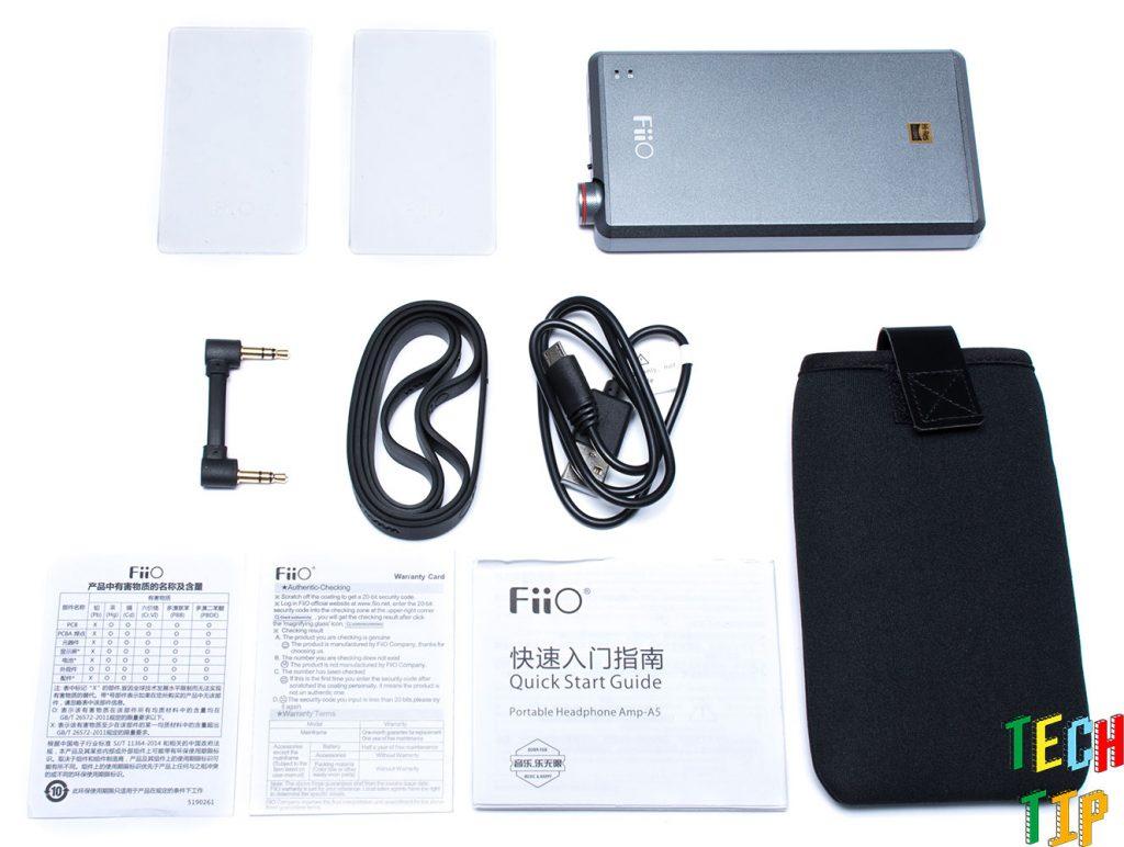 fiio-a5-unbox
