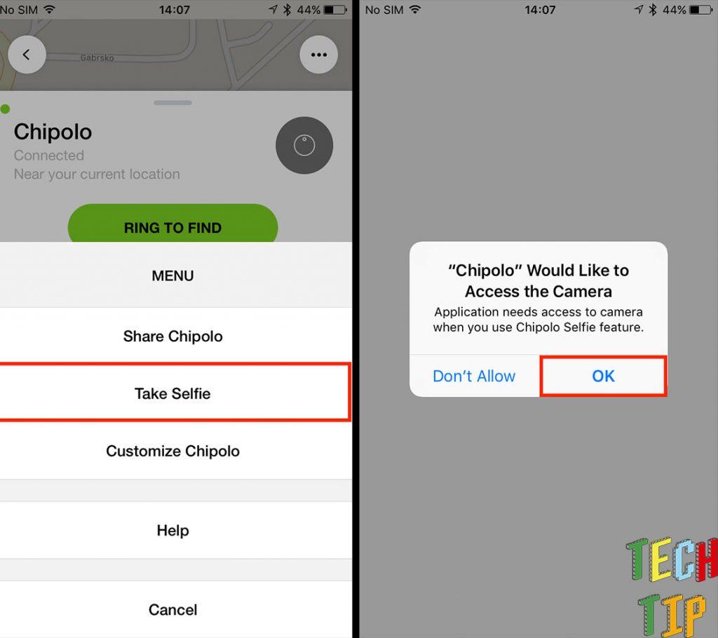 chipolo-app-selfie
